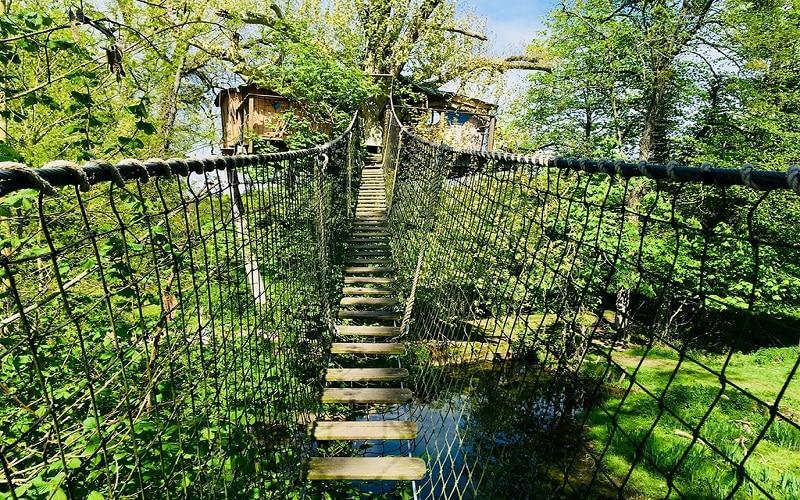 Logement insolite Cabane dans les arbres Normandie - Les Cro'coeurs Blog voyage