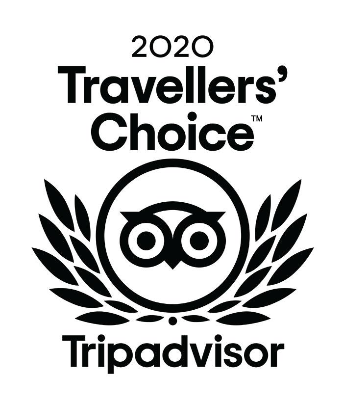 2020 Travellers Choice logo Trip Advisor - Les Cro'coeurs Travel Planner et Blog Voyage