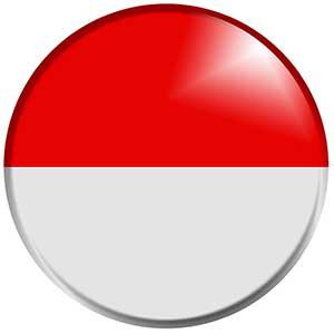 Drapeau Indonésie - Les Cro'coeurs Travel Planner & Blog Voyage