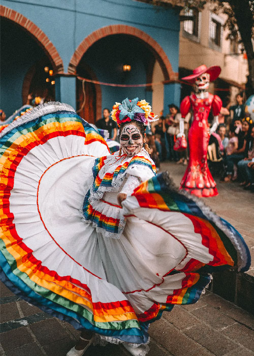 Dia de los Muertos Halloween au Mexique