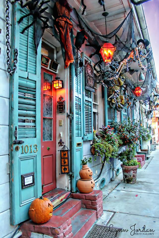 La Nouvelle-Orléans décorations halloween - Les Cro'coeurs Travel Planner & Blog Voyage