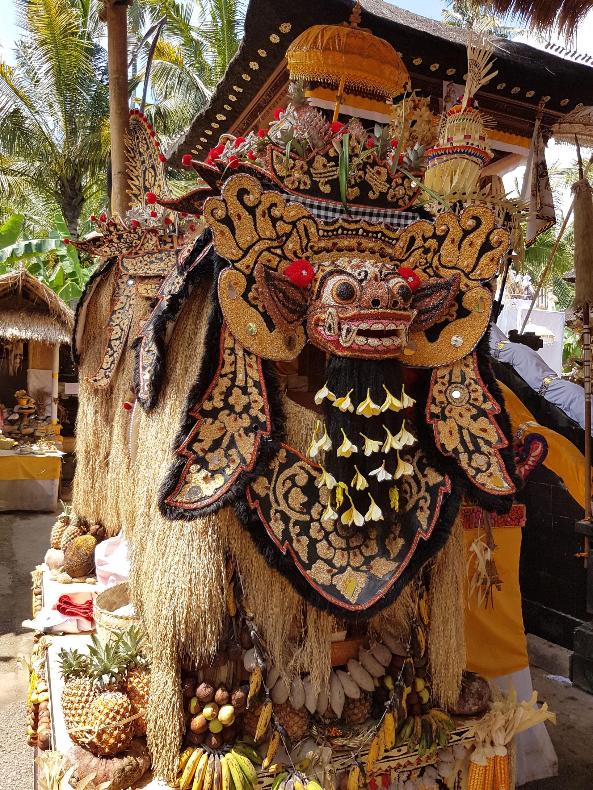 Barong Ket Bali - Les Cro'coeurs Blog voyage