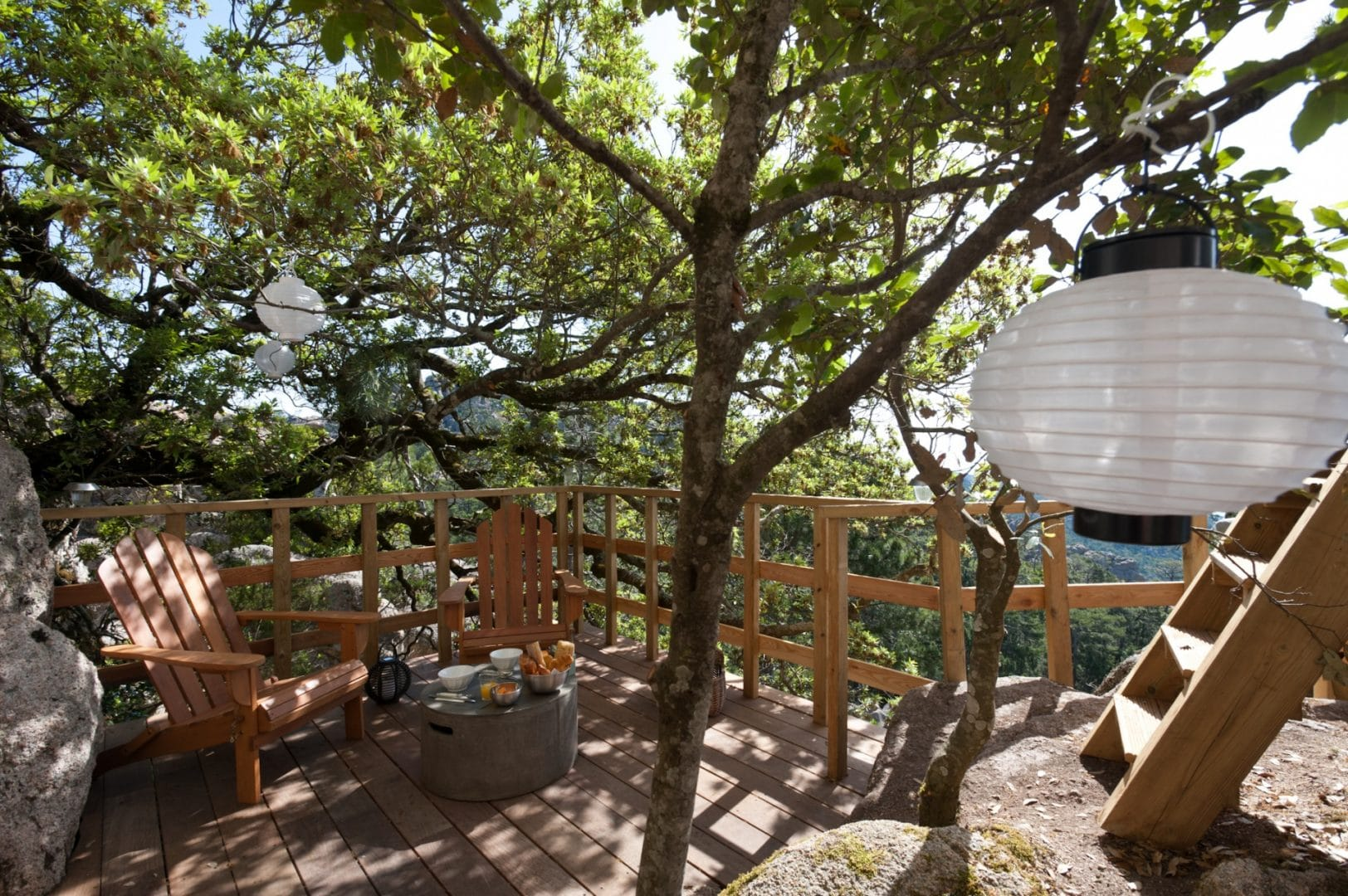 Logement insolite Corse Cocoon suspendu - Les Cro'coeurs Blog voyage
