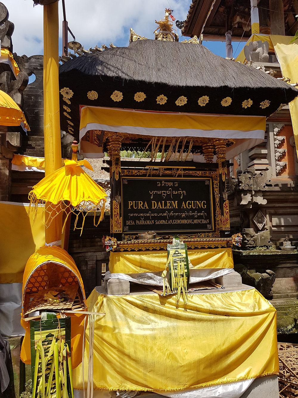 Entrée temple Bali - Les Cro'coeurs Blog voyage