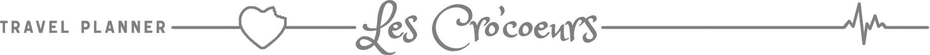 Signature bas de page article de blog - Les Cro'coeurs Travel Planner et Blog Voyage