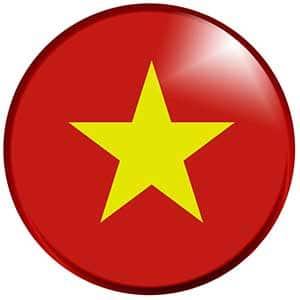 Drapeau Vietnam - Les Cro'coeurs - Blog voyage